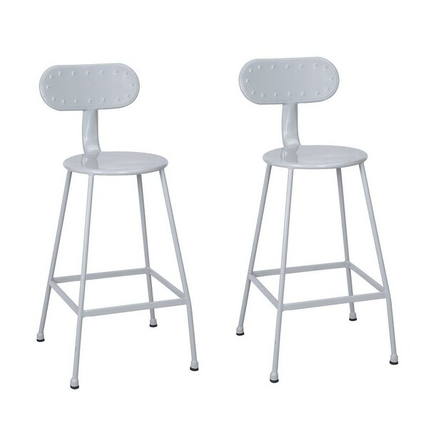 26.2 Bar Stool (Set of 2) by Adeco Trading