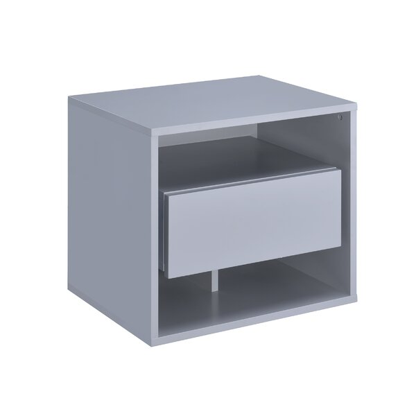 Whitbeck 1 Drawer Nightstand by Orren Ellis