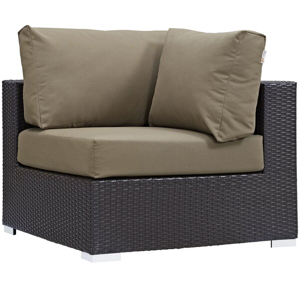 Brentwood Corner Patio Chair with Sunbrella Cushions by Sol 72 Outdoor Sol 72 Outdoor