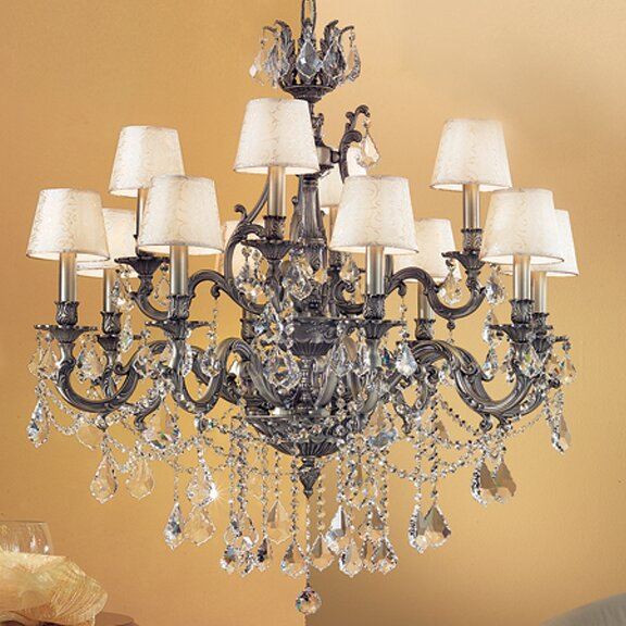 Failand 12 - Light Shaded Tiered Chandelier by Astoria Grand Astoria Grand