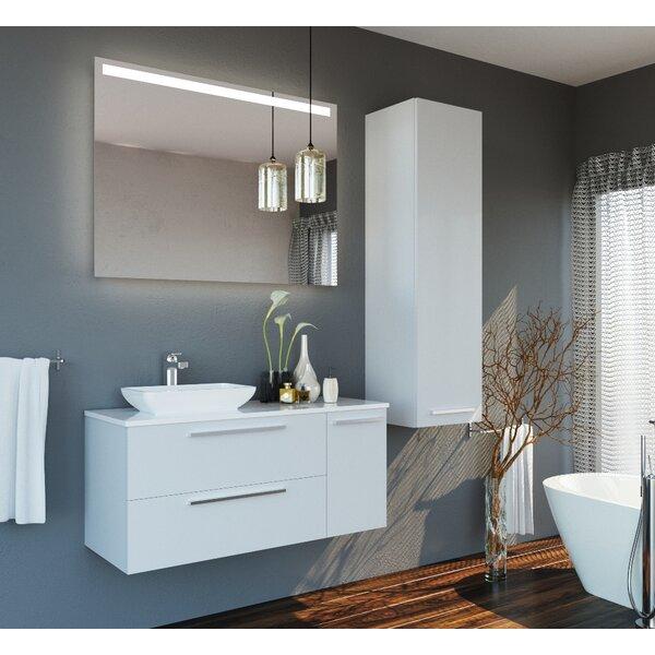 Whetstone 47 Single Bathroom Vanity Set with Mirror by Orren Ellis