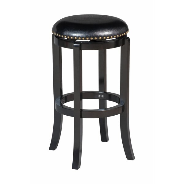 Anacortes Backless 29 Swivel Bar Stool by Alcott Hill