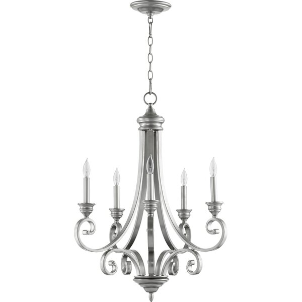 Cambron 5 - Light Candle Style Classic / Traditional Chandelier by Winston Porter Winston Porter