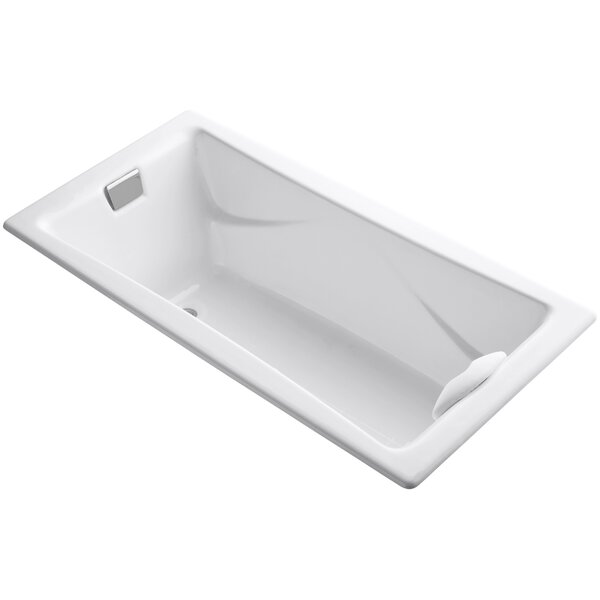 Tea-For-Two 72 x 36 Soaking Bathtub by Kohler