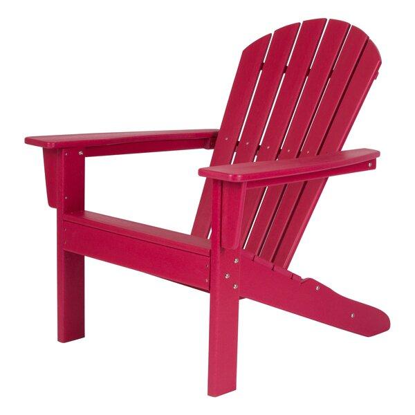 Barrett Plastic Rocking Adirondack Chair by Bay Isle Home