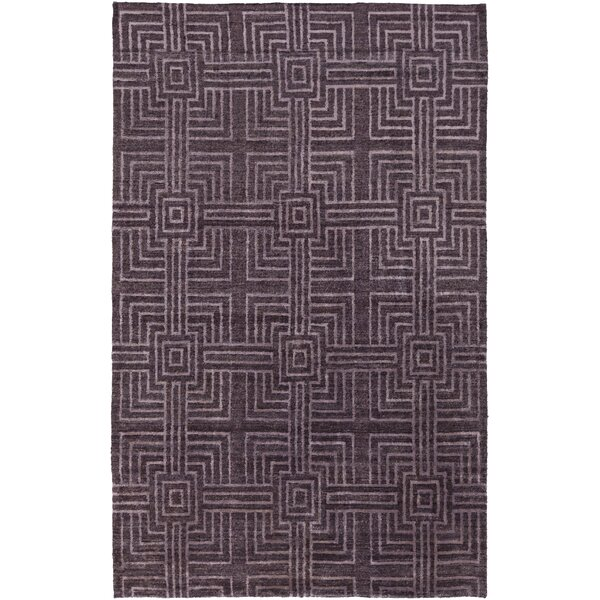 Terrance Purple Geometric Area Rug by Corrigan Studio