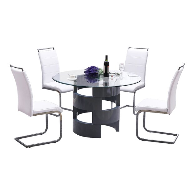 Mui 5 Piece Dining Set by Orren Ellis