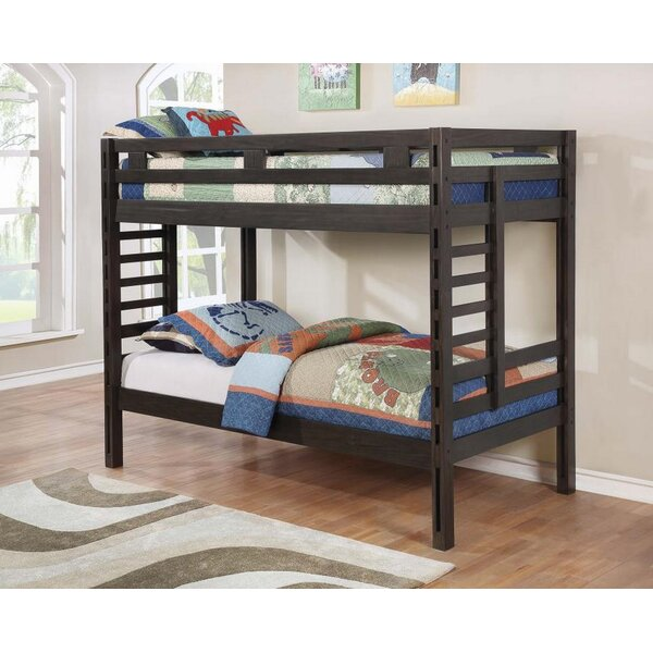 Sheard Twin Bunk Bed by Harriet Bee