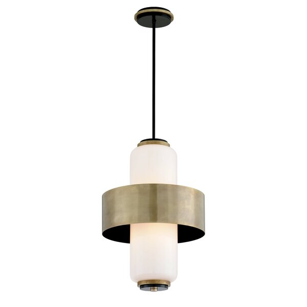 Melrose 4-Light Unique / Statement Geometric Chandelier By Corbett Lighting