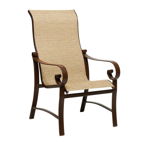 Belden High Back Patio Dining Chair by Woodard