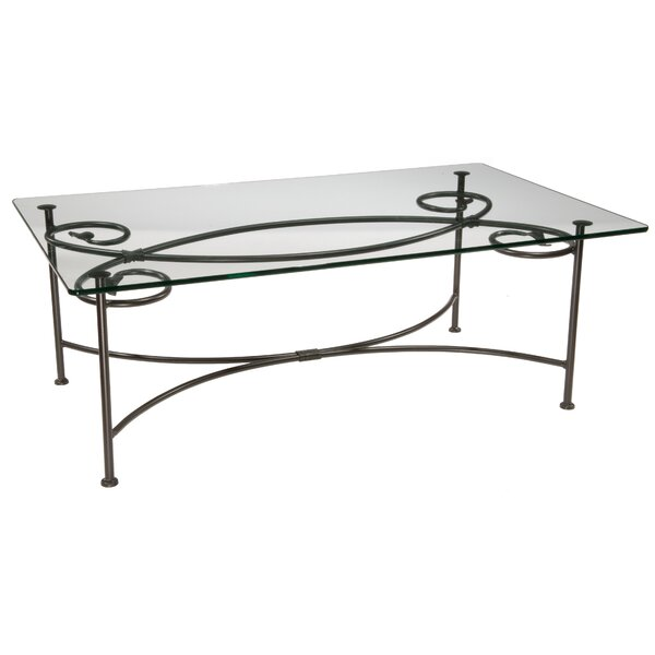 Church Leaf Coffee Table by Fleur De Lis Living