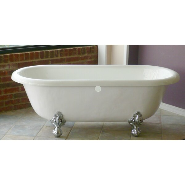 Marquise 66 x 30 Freestanding Soaking Bathtub by Restoria Bathtub Company