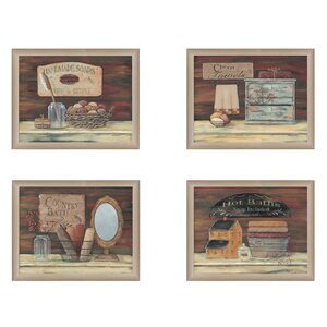 'Bathroom II' 2 Piece Framed Graphic Art Print Set by Trendy Decor 4U