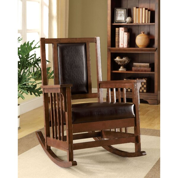 Roebuck Rocking Chair by Loon Peak