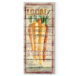 'Carrots' by Carol Robinson Vintage Advertisement on Plaque by Wexford Home