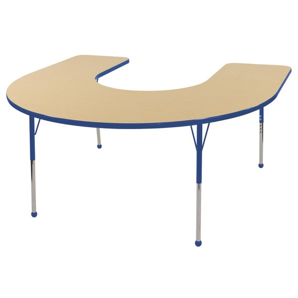 66 x 60 Horseshoe Activity Table by ECR4kids