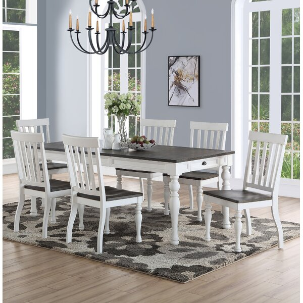 Jarett 7 Piece Dining Set by Charlton Home