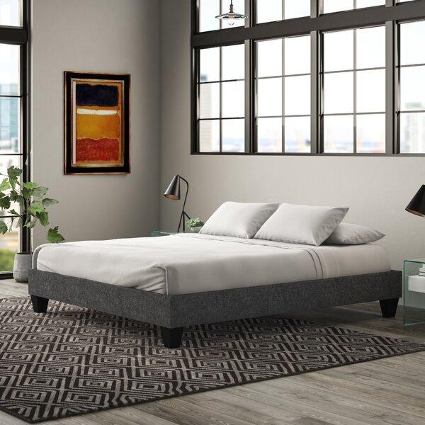 Brayton Upholstered Platform Bed by Wrought Studio