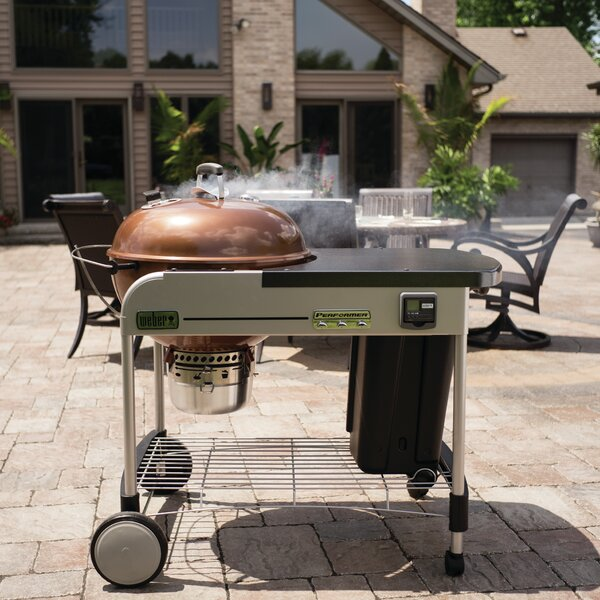 22 Performer Premium Charcoal Grill by Weber