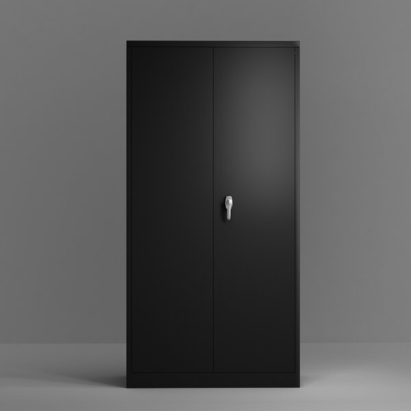 Adam-Jesse 4-Shelf Storage Cabinet