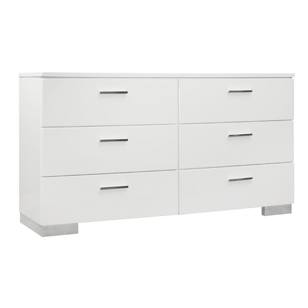 Mcmillion 6 Drawer Dresser by Mercer41