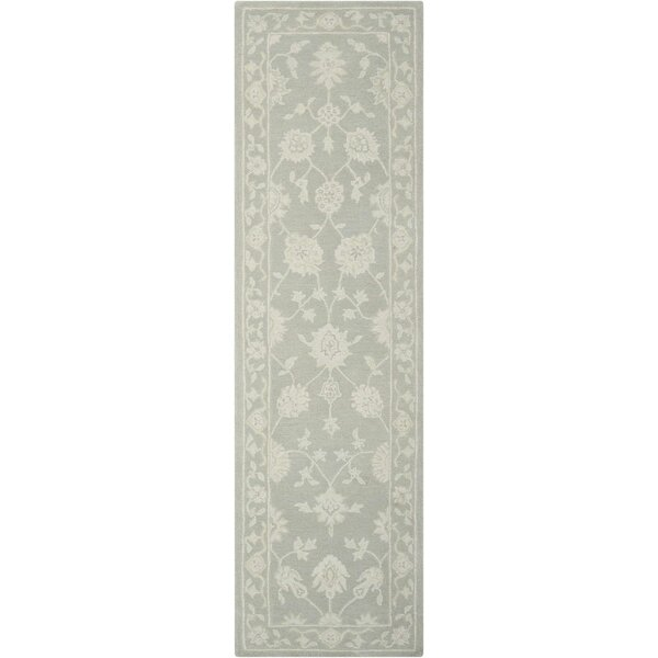 Ridgeville Hand-Tufted Light Taupe Area Rug by Darby Home Co