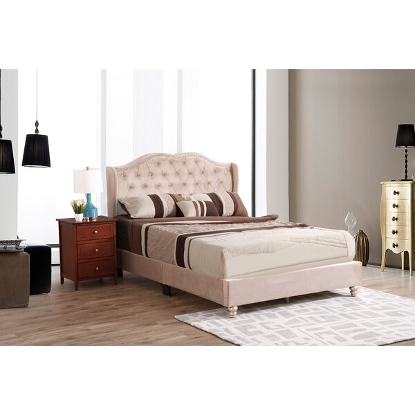 Colbourne Upholstered Standard Bed by Rosdorf Park