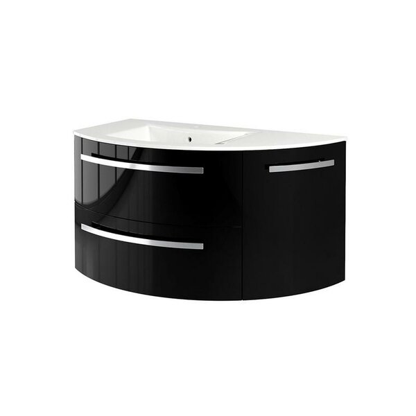 Metson 38 Wall-Mounted Single Bathroom Vanity Set