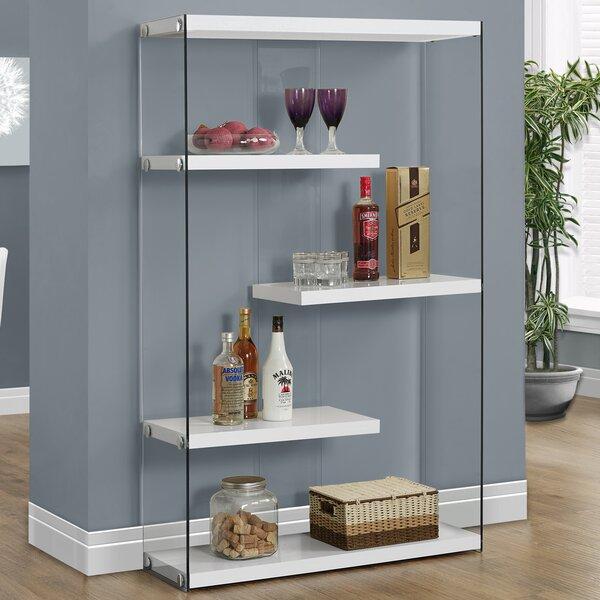 Emporia Geometric Bookcase By Ebern Designs