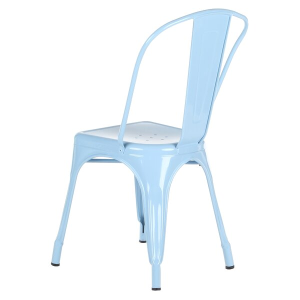 Stacking Patio Dining Chair by Joseph Allen