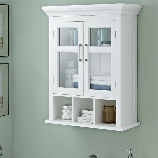 Avington 23.63 W x 30.13 H Wall Mounted Cabinet by Simpli Home