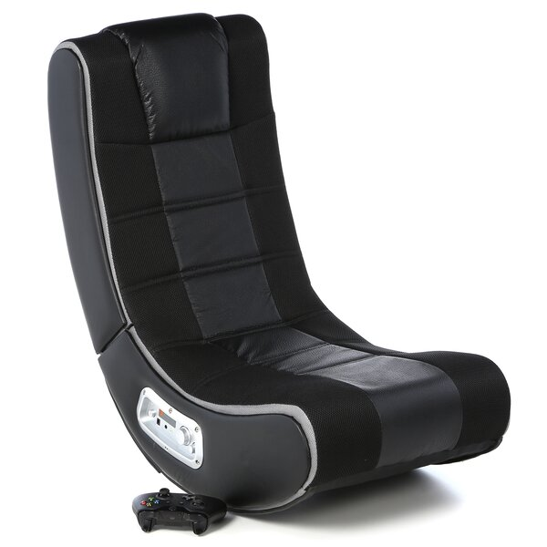 Gaming Chair in Black by Latitude Run