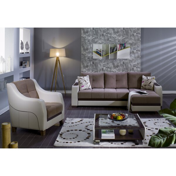 Isitkbal Bartoll 2 Piece Sleeper Sectional Living Room Set By Red Barrel Studio