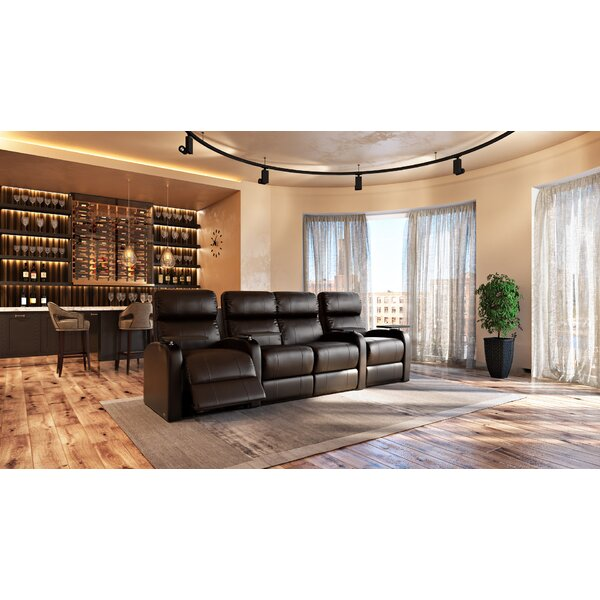 Low Price Home Theatre Lounger (Row Of 4)