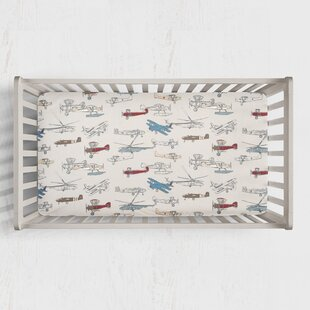 Shop For Lara Fitted Crib Sheet ByHarriet Bee