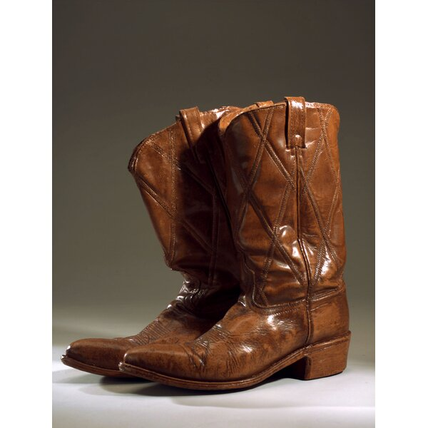 Cowboy Boots Sculpture by Craft-Tex