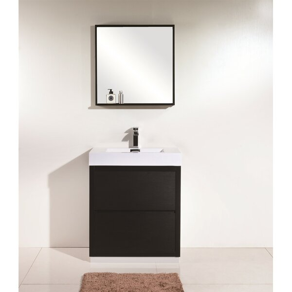 Tenafly 30 Single Bathroom Vanity Set by Wade Logan