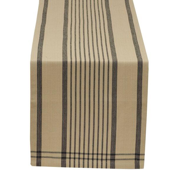 Mercantile and Co. Butcher Block Plaid Table Runner by Design Imports