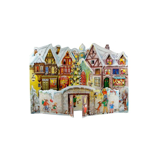 Sellmer Village with Kids Advent Calendar by The Holiday Aisle