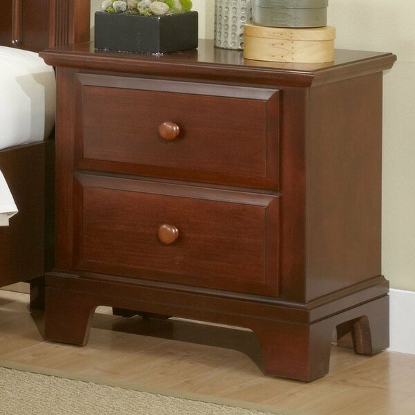 Cedar Drive 2 Drawer Nightstand by Darby Home Co Darby Home Co