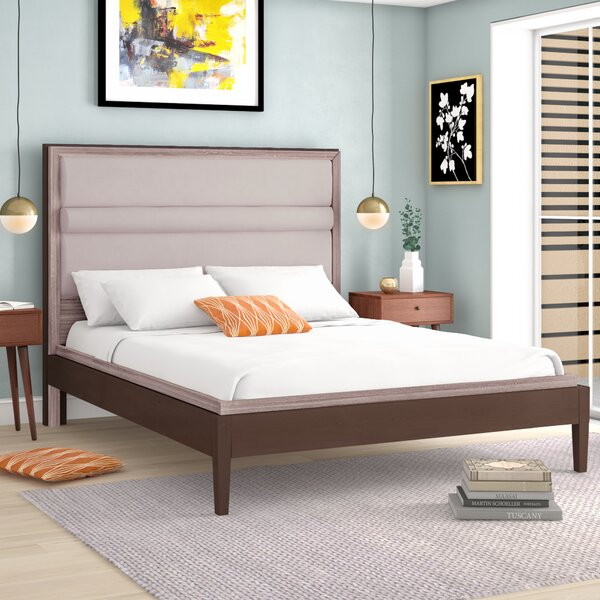 Oneonta Upholstered Platform Bed by Brayden Studio