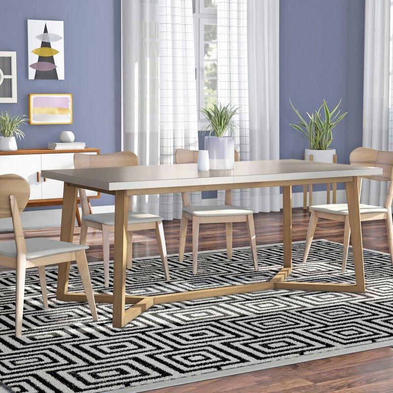Langley Street Chesapeake Extendable Dining Table & Reviews | Wayfair
