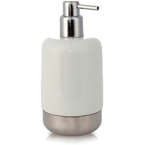 Homerton Porcelain Stainless Steel Soap Dispenser by Ivy Bronx