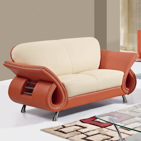 Modern Brand Daphine Loveseat by Orren Ellis by Orren Ellis