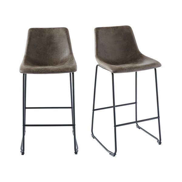 Green 29 Bar Stool (Set of 2) by Williston Forge