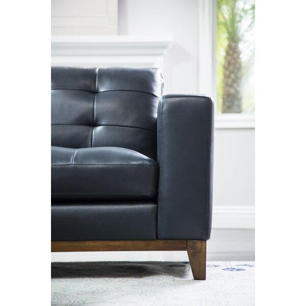 Caleb Leather 2 Piece Living Room Set by Corrigan Studio