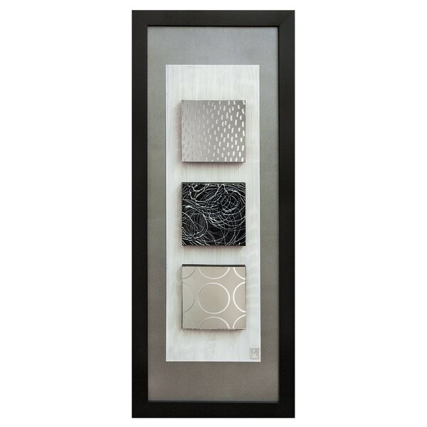 Reflections I Framed Graphic Art Plaque by Ren-Wil