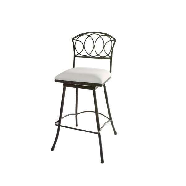 Chau Iron 30 Swivel Bar Stool by Fleur De Lis Living
