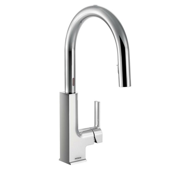 Sto Pull Down Touchless Single Handle Kitchen Faucet by Moen