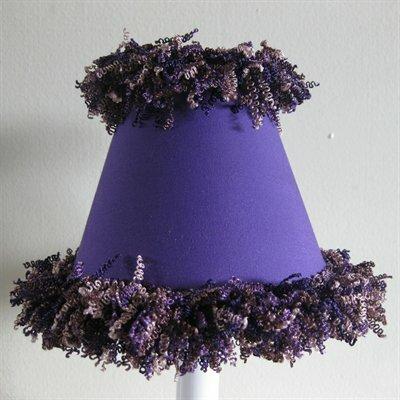 Pop Star Purple Night Light by Silly Bear Lighting